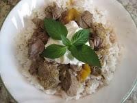 Armenian Lamb Mango Stew