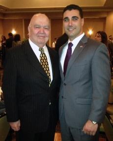 Dr. Hovannisian and Taniel Koushakjian