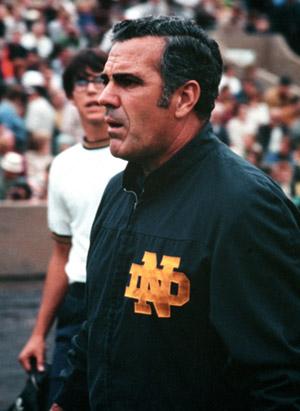 Notre Dame's Ara Parseghian: Football Coach ...