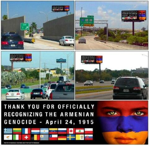 Armenian Billboard FL 2013