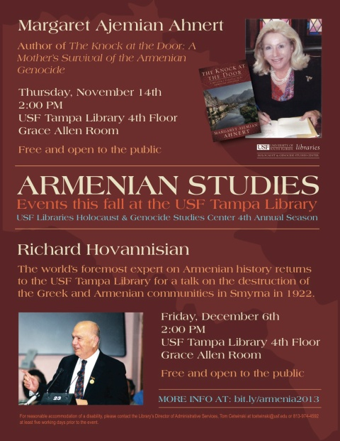 USF Armenian-Studies-Fall-2013