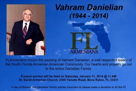 Danielian Obituary