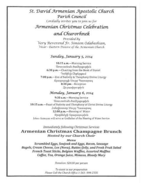 SDAC Armenian Christmas 2014