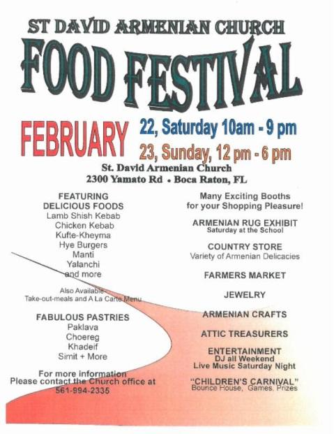 SDAC Food Fest 2014