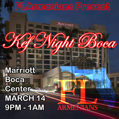 FLArmenians Kef Night Boca 2014