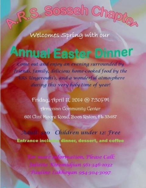 ARS_Easter Dinner_04.11.14