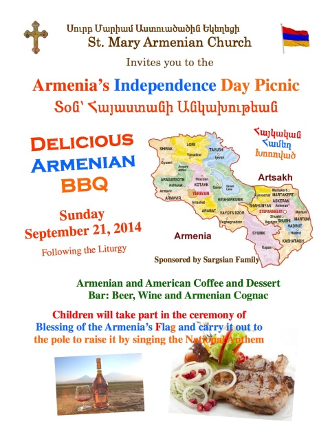 Armenia's Independence Day Picnic - 2014