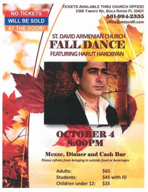 SDAC Fall 2014 Dance