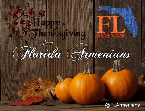 FLArmenians Thanksgiving Graphic 2014