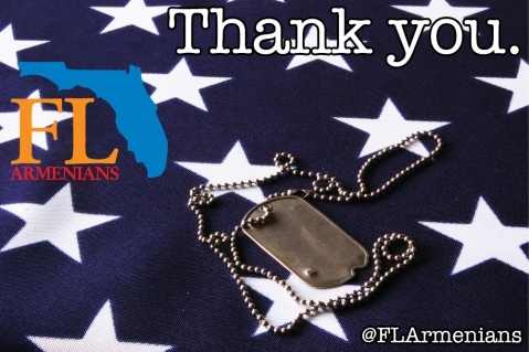 FLArmenians Veterans Day TY2015