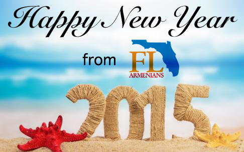 happy new year 2015 from florida armenians