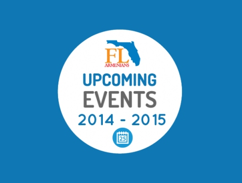 FLArmenians upcoming events round