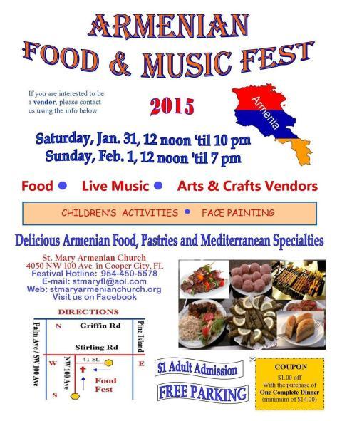 SMAC Armenian Festival 2015