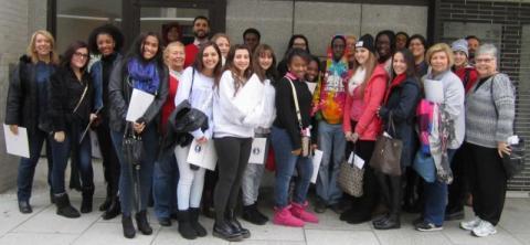 FL Students Visit AAA 2