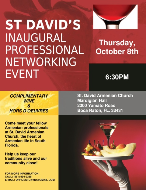 St David Professional Networking Event