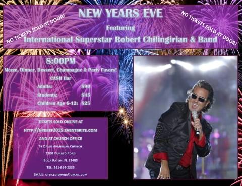 NYE 2015 Flyer