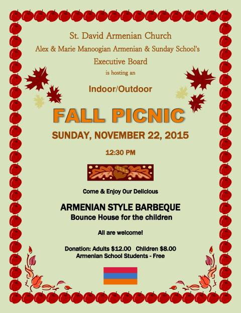 armenian fall picnic