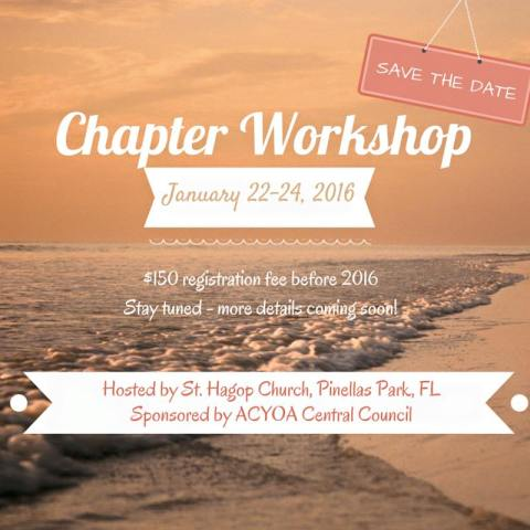 ACYOA Chapter Workshop 2016