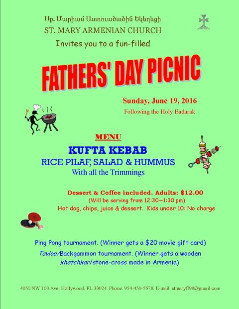 SMAC, Fathers Day Picnic-2016