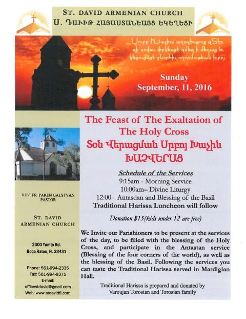 SDAC Feast of Exaltation_09.11.16