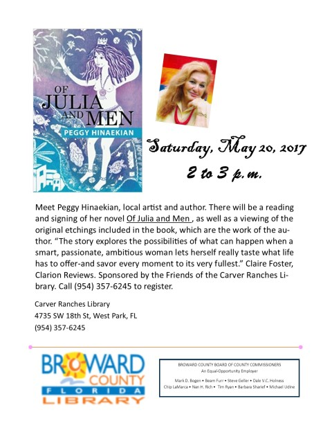 Of Julia and Men Book Signing 5.20.17